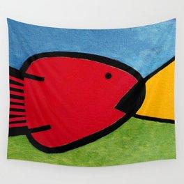 La pesca de un Miró Wall Tapestry