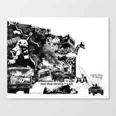 Tuesday Canvas Print