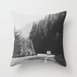 ROAD TRIP / Canada Throw Pillow
