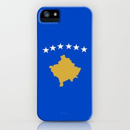Kosovo country flag iPhone Case