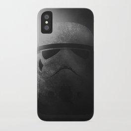 Dark Storm Trooper iPhone Case