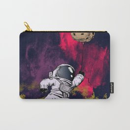 minimalist Astronaut Carry-All Pouch