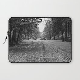 Walking Down A Wooded Road Laptop Sleeve