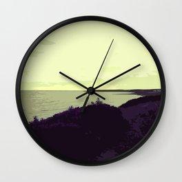 New Victoria Shores Yellow Wall Clock