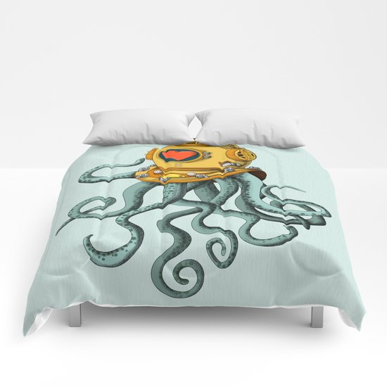 I'm falling in love with you? Comforters