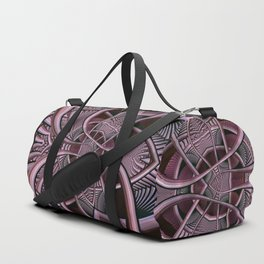 Mind-boggling, fractal abstract Duffle Bag