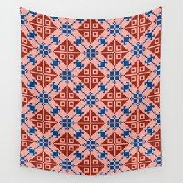 Folk Pattern Wall Tapestry