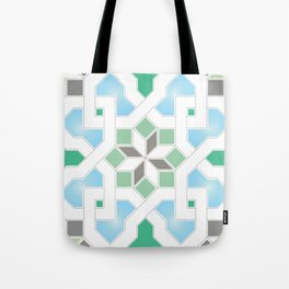 Geometric Pattern - Oriental Design Pt. 6 Tote Bag