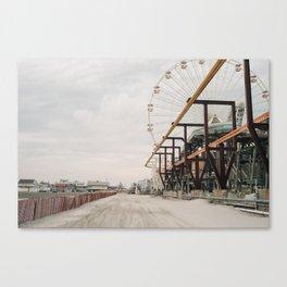 The Race of Gentlemen 15 Canvas Print