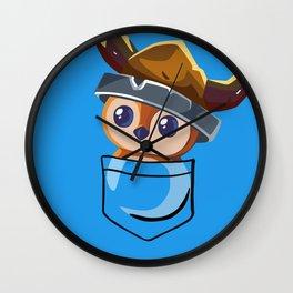 Viking Pepe! Wall Clock