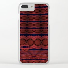 Soothing Orbital Voids 8 Clear iPhone Case