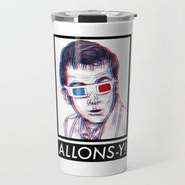 10th Doctor 3D Glasses Travel Mug
