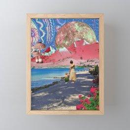 Goodbye Hawaii Framed Mini Art Print