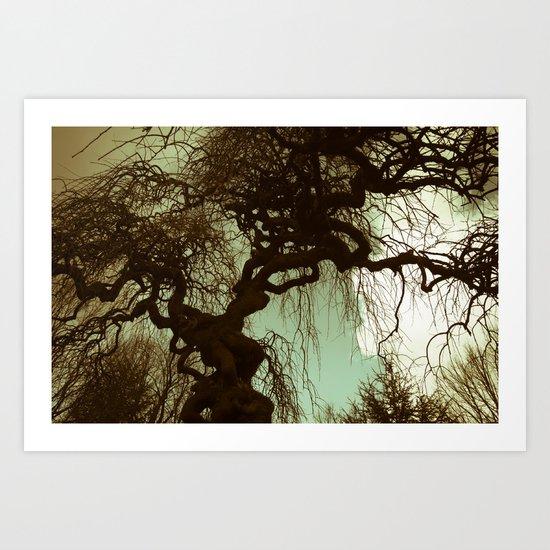 Remember. Landscape. Art Print