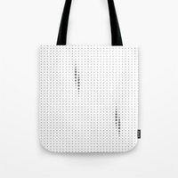dots Tote Bags featuring Dots by rob art | simple