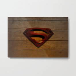 SuperWood Metal Print