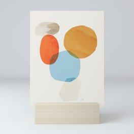 Abstraction_Balance_001 Mini Art Print