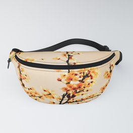 SPRING BLOSSOMS IN ORANGE Fanny Pack