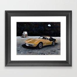 AstroVette Framed Art Print