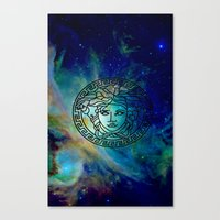 versace Canvas Prints featuring Versace Nebula  by RickyRicardo787