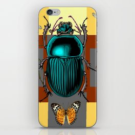 BUGGY INSECT LOVERS ART iPhone Skin