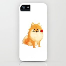 Charming Pomeranian iPhone Case