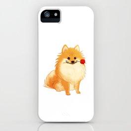 Charming Pomeranian iPhone Case