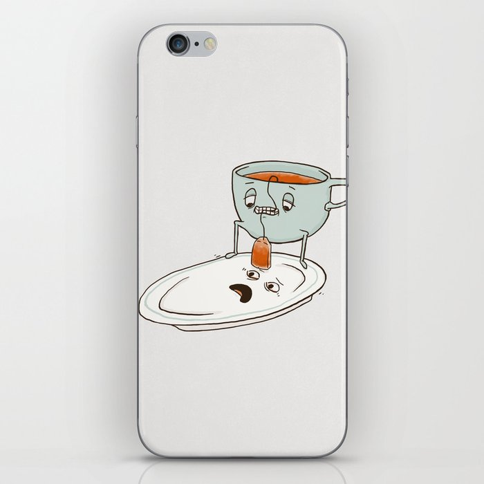 Tea Baggin' iPhone Skin