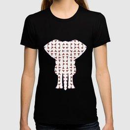 Rainbow Ganesha Pattern (White) T-shirt