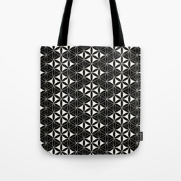 Flower of Life Pattern 12 Tote Bag