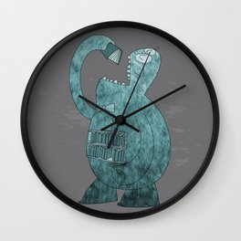The Librarian Wall Clock