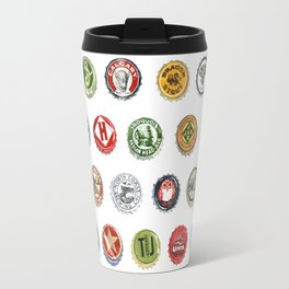Bottlecaps A to Z Travel Mug