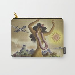 Vintage Hawaii Poster Carry-All Pouch