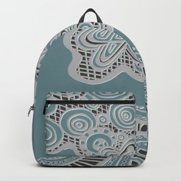 Just a Squiggle Here and There Backpack