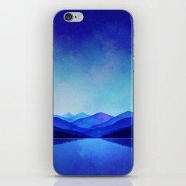 Midnight Blue iPhone Skin
