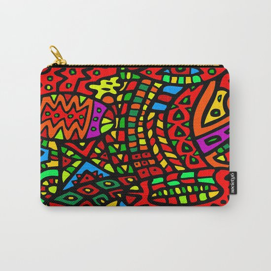 Abstract #411 Carry-All Pouch