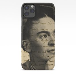 Letter Frida Kahlo iPhone Case