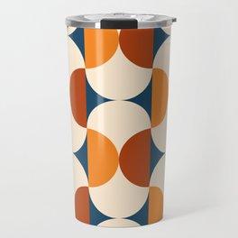 60s Beans Pattern Travel Mug