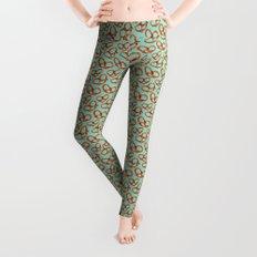 Pretzel Pattern Leggings