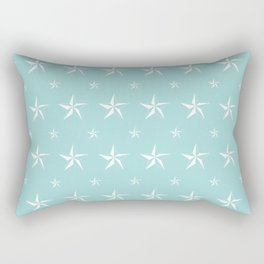 Stella Polaris Turquoise Design Rectangular Pillow