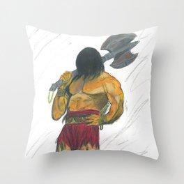 Cimmerian zombie Throw Pillow