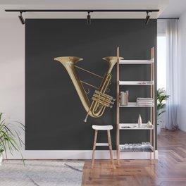 Alphabet Orchestra - V Wall Mural