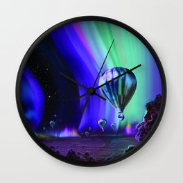 Auroras of Jupiter: A Flight of Fancy Wall Clock