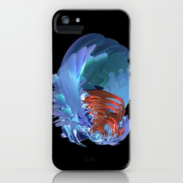 Blue Shell iPhone Case