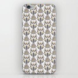 Folk Art Floral Victorian Style iPhone Skin
