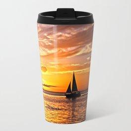 Sail into the Sunset  Travel Mug