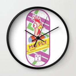 Nobody calls me chicken Wall Clock