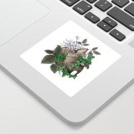 Brush Bunny Sticker