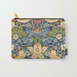 William Morris Strawberry Thief Restored Carry-All Pouch