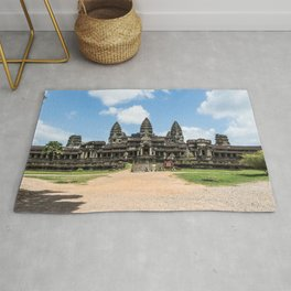 Angkor Wat East Entrance, Cambodia Rug